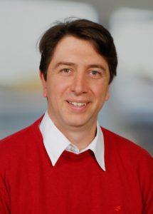 Portrait von Baukoordinator Andreas Pusker