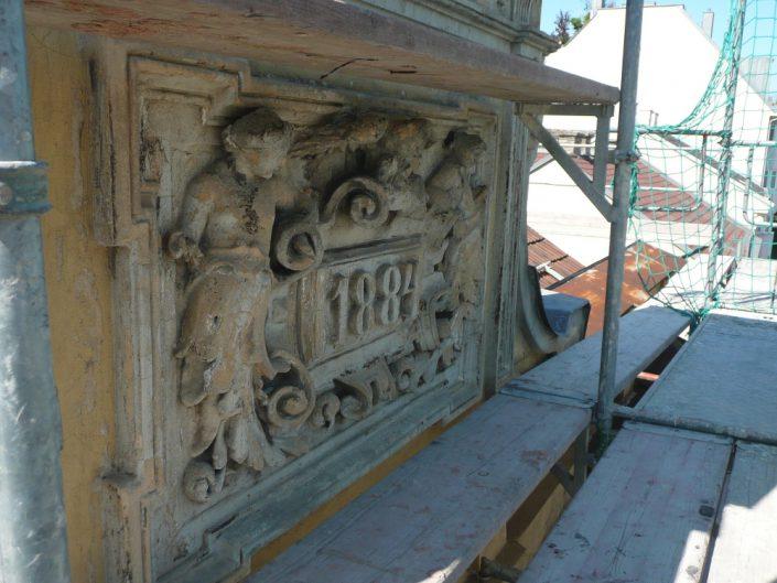 Sanierung Wohnhaus Ottakring – Fassadenelement