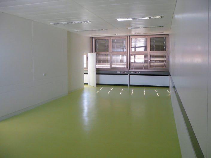 Bürogebäude in Meidling – Ein leerer, bezugsfertiger Raum