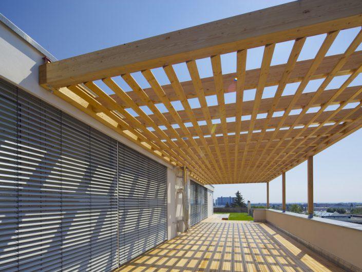 Umbau Ehemalige Modellbahnfabrik – Dachterrasse