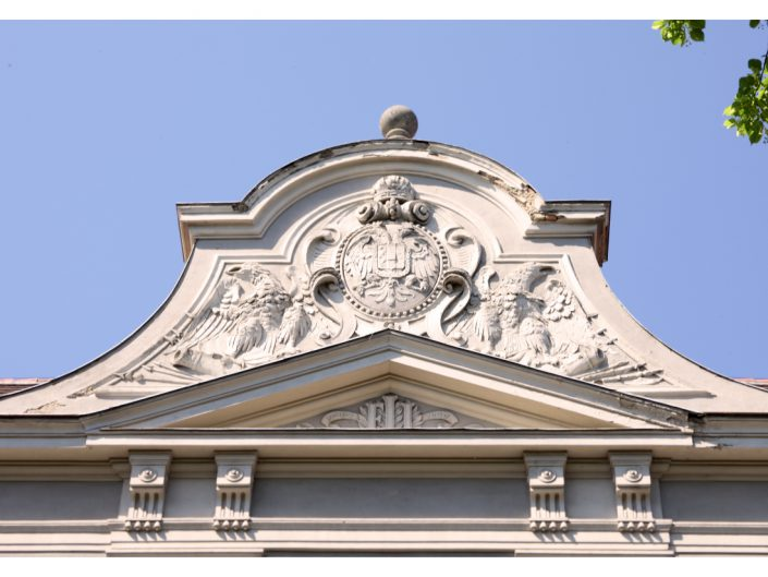Sanierung Ehemalige Kaserne Stockerau – Detail an der Fassade
