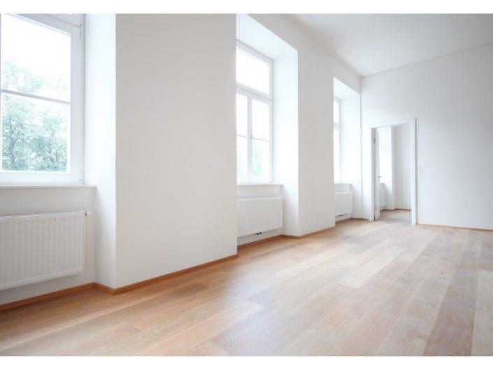 Sanierung Ehemalige Kaserne Stockerau – Beispiel eines sanierten Innenraums