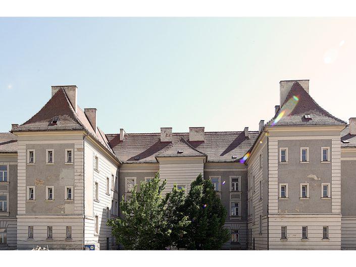 Sanierung Ehemalige Kaserne Stockerau – Ursprüngliche Hoffassade