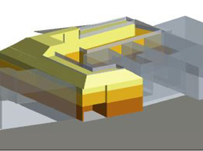 Bebauungsstudie – Rendering eines Wohnhauses