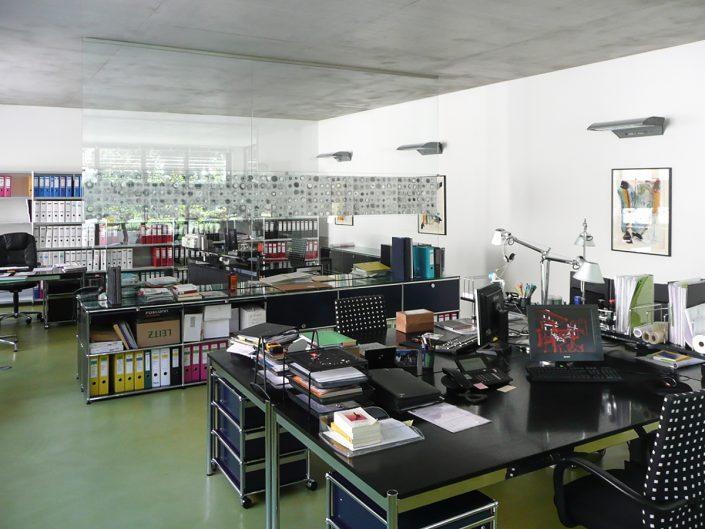 Loftbüro Dornbach – Möblierter Büroraum