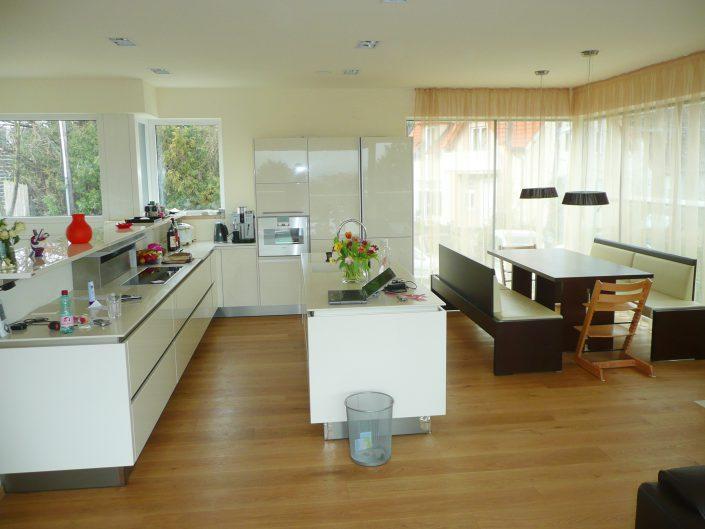 Errichtung gekuppeltes Kleingartenhaus – Wohnküche
