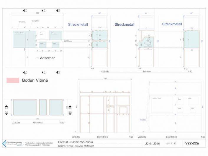 Ausstellung STONEHENGE – Bauplan im Querschnitt