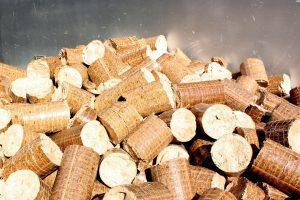Pellets, um ein Heizsystem zu befeuern