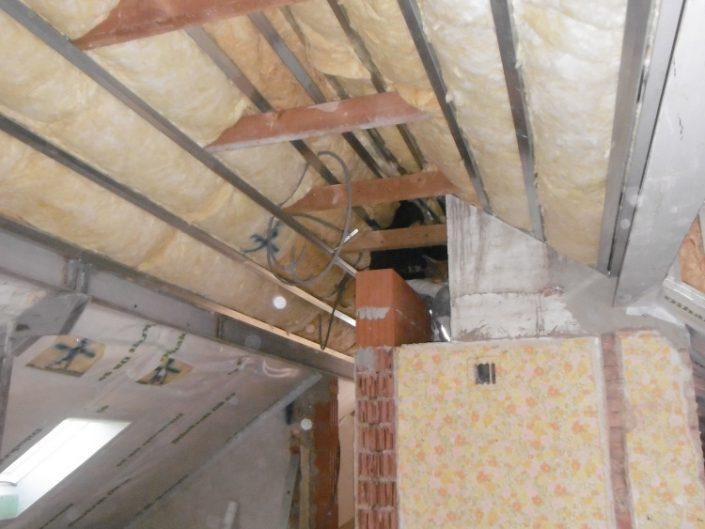Umbau Einfamilienhaus Biedermannsdorf – Dachgeschoss mit Wärmedämmung