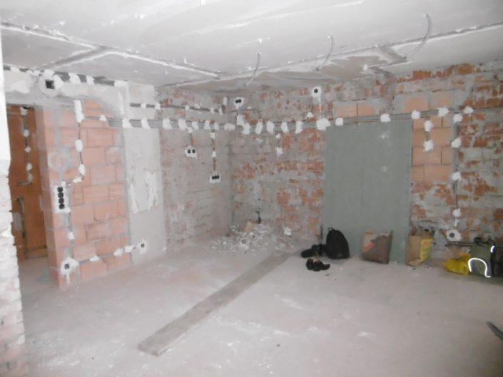 Umbau Einfamilienhaus Biedermannsdorf – Rohbau der Wohnräume