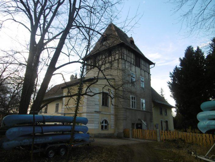 Umbau Waldorfschule Schönau – Rückansicht