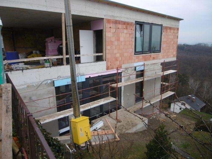 Neubau Einfamilienhaus – Errichtung der Innentreppe