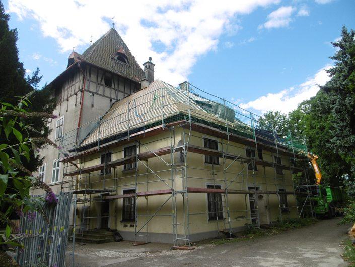Umbau Waldorfschule Schönau – Außenansicht des Umbaus