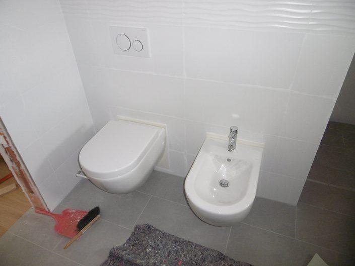 Umbau Einfamilienhaus Biedermannsdorf – Sanierung des Badezimmers