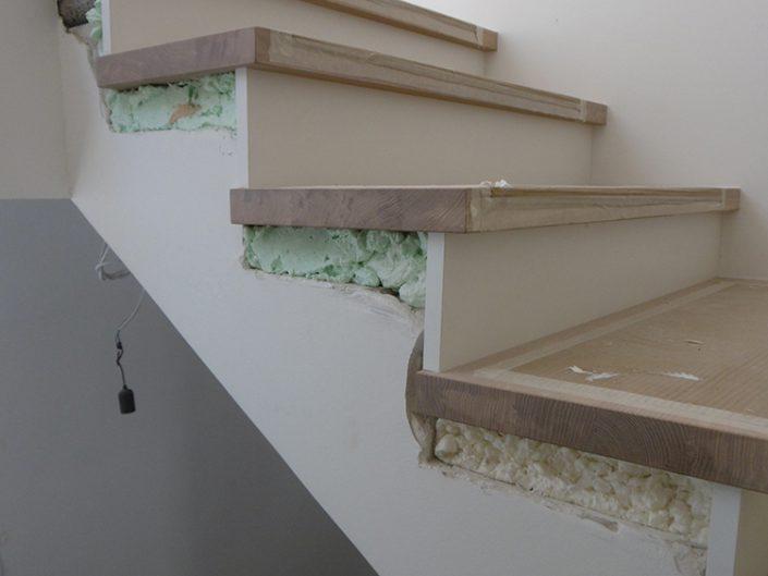 Umbau Einfamilienhaus Biedermannsdorf – Neugestaltung der Treppen