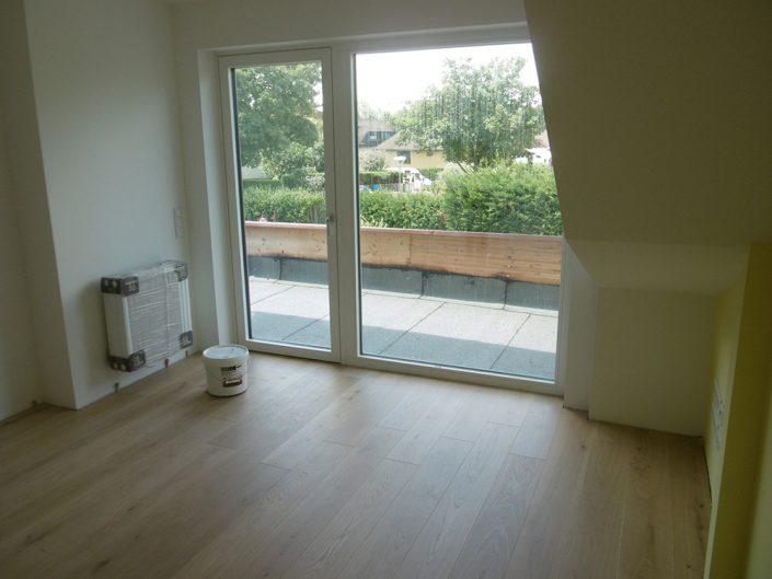 Umbau Einfamilienhaus Biedermannsdorf – Wohnzimmersanierung mit Terrasse