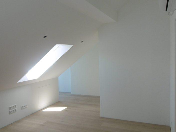 Umbau Einfamilienhaus Biedermannsdorf – Sanierung des Dachgeschoßes mit Klimaanlage