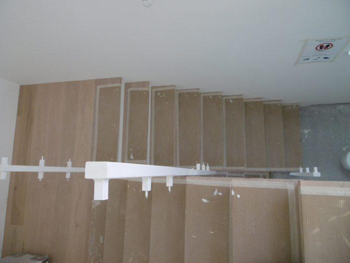 Umbau Einfamilienhaus Biedermannsdorf – Neubau der Treppen