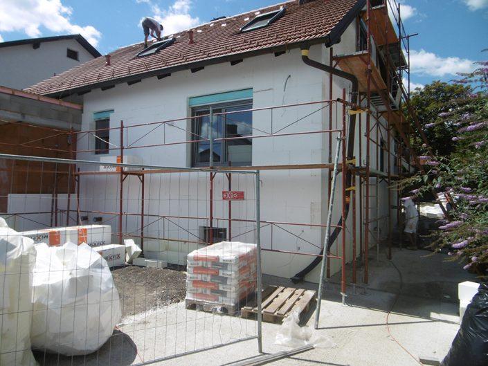 Umbau Einfamilienhaus Biedermannsdorf – Sanierung des Außenbereichs