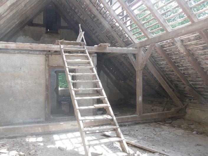 Umbau Waldorfschule Schönau – Dachboden
