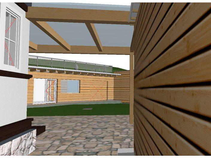 Projekt Dörfl – Visualisierung Innenbereich