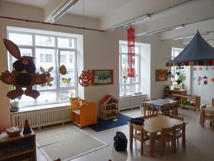 Kindergarten – Fertig möblierter Gruppenraum