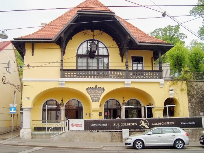 Loftwohnung in Dornbach – Außenansicht des Gebäudes
