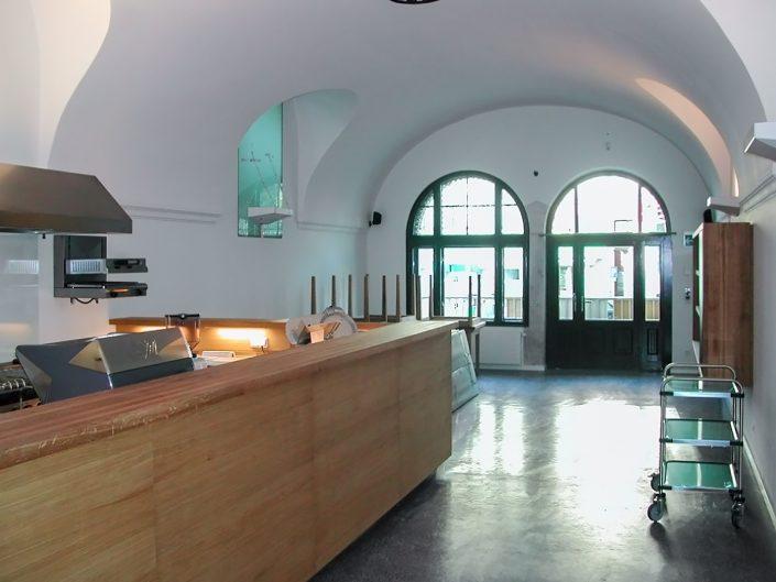 Restaurant in Dornbach – Blick ins Restaurant