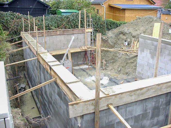 Kleingartenhaus aus Holz – Errichtung des Fundaments